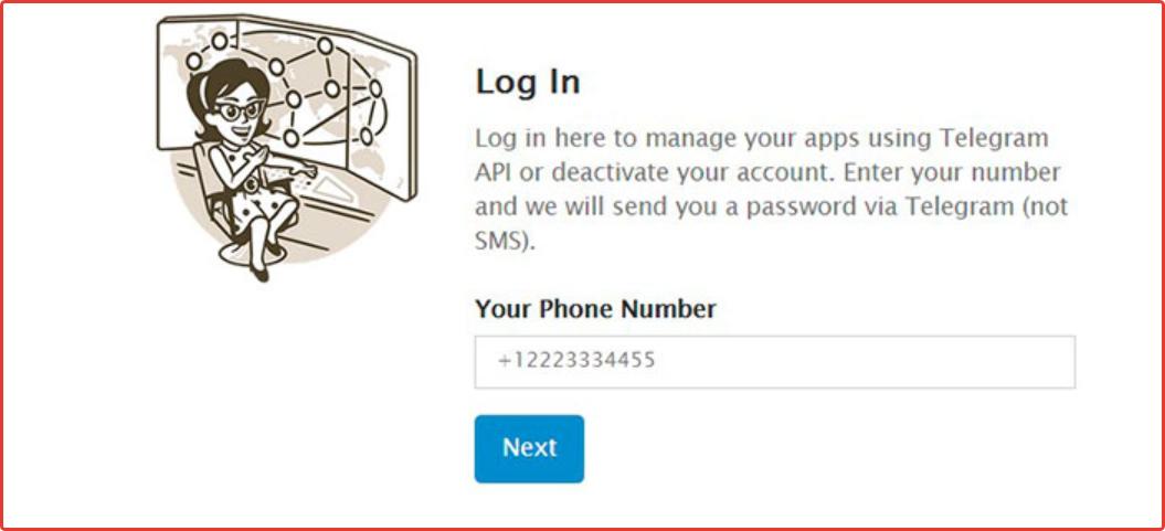 удалить Telegram